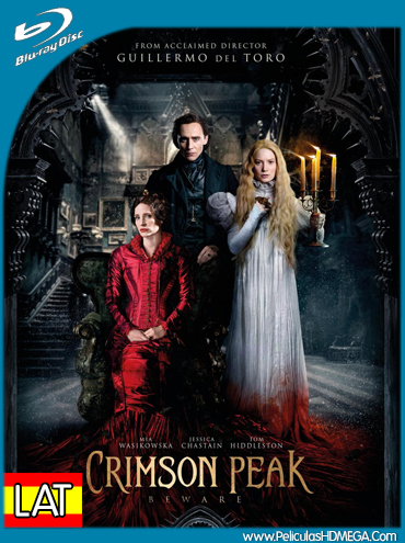 Crimson Peak 2015 720p BRRip 850mb ESub hollywood movie crimson peak 720p brrip free download or watch online at https://world4ufree.ws