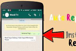 Cara Otomatis Balas Pesan di Semua Aplikasi Chatting Seperti WhatsApp