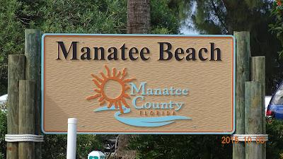 Willkommen in Manatee Beach auf Anna Maria Island, Florida USA