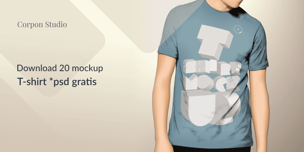 Download T-Shirt Mockup Terbaru Gratis
