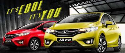 Harga Mobil Honda New Jazz terbaru 2016