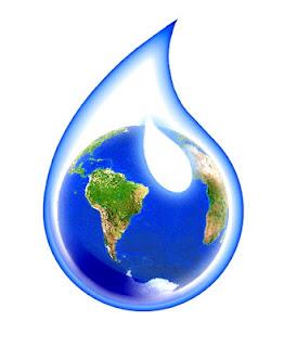Riassunto sul ciclo dell'acqua, che si trasforma continuamente