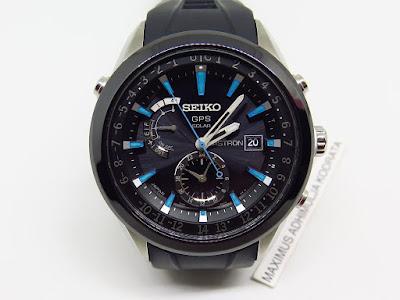 Cocok untuk Anda yang sedang mencari jam tangan Japan made... dengan fitur  canggih... SEIKO ASTRON GPS SOLAR DUAL TIME - 7X52 e0ecc4af33