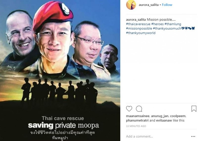 The gruelling 18-day ordeal claimed the life of Saman Kunan, a volunteer diver and former Thai Navy Seal who was helping with the rescue mission. Saman died on July 6 after losing consciousness during a mission to place oxygen tanks deep inside the cave, two days before the first boys were brought out safely.