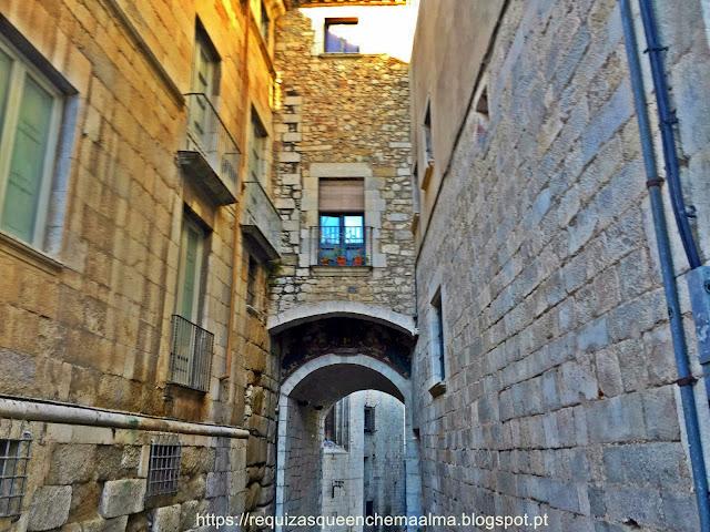 Rua bairro judeu de Girona, chamado de Call