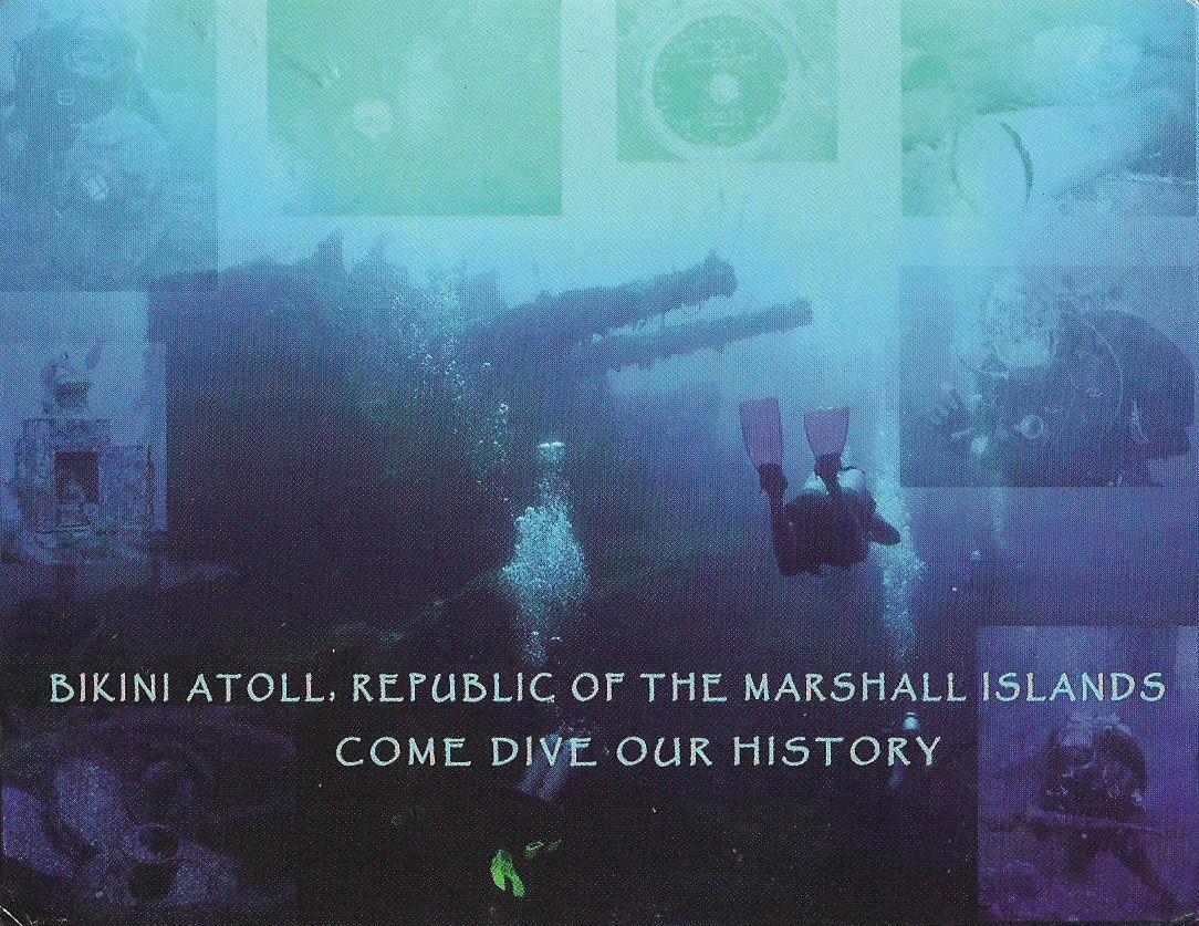 MY UNESCO WHS POSTCARDS COLLECTION: MARSHALL ISLANDS - Bikini Atoll ...