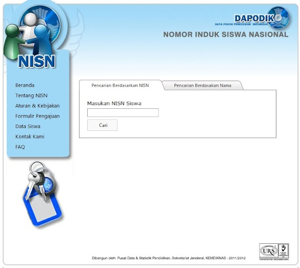 Cara Cek NISN (Nomor Induk Siswa Nasional) Siswa SD