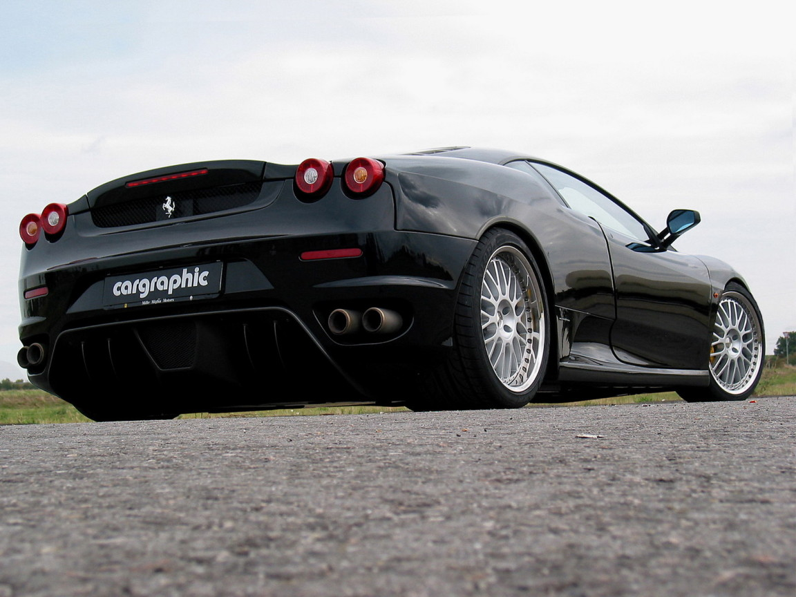 Hd Black Ferrari Cars Wallpapers