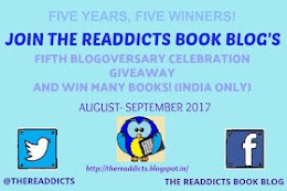The Readdicts Fifth Blogoversary Celebration Giveaway! (IN only)
