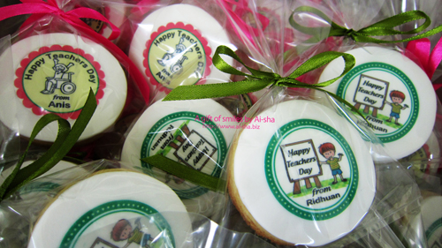 Teacher's Day Cookies