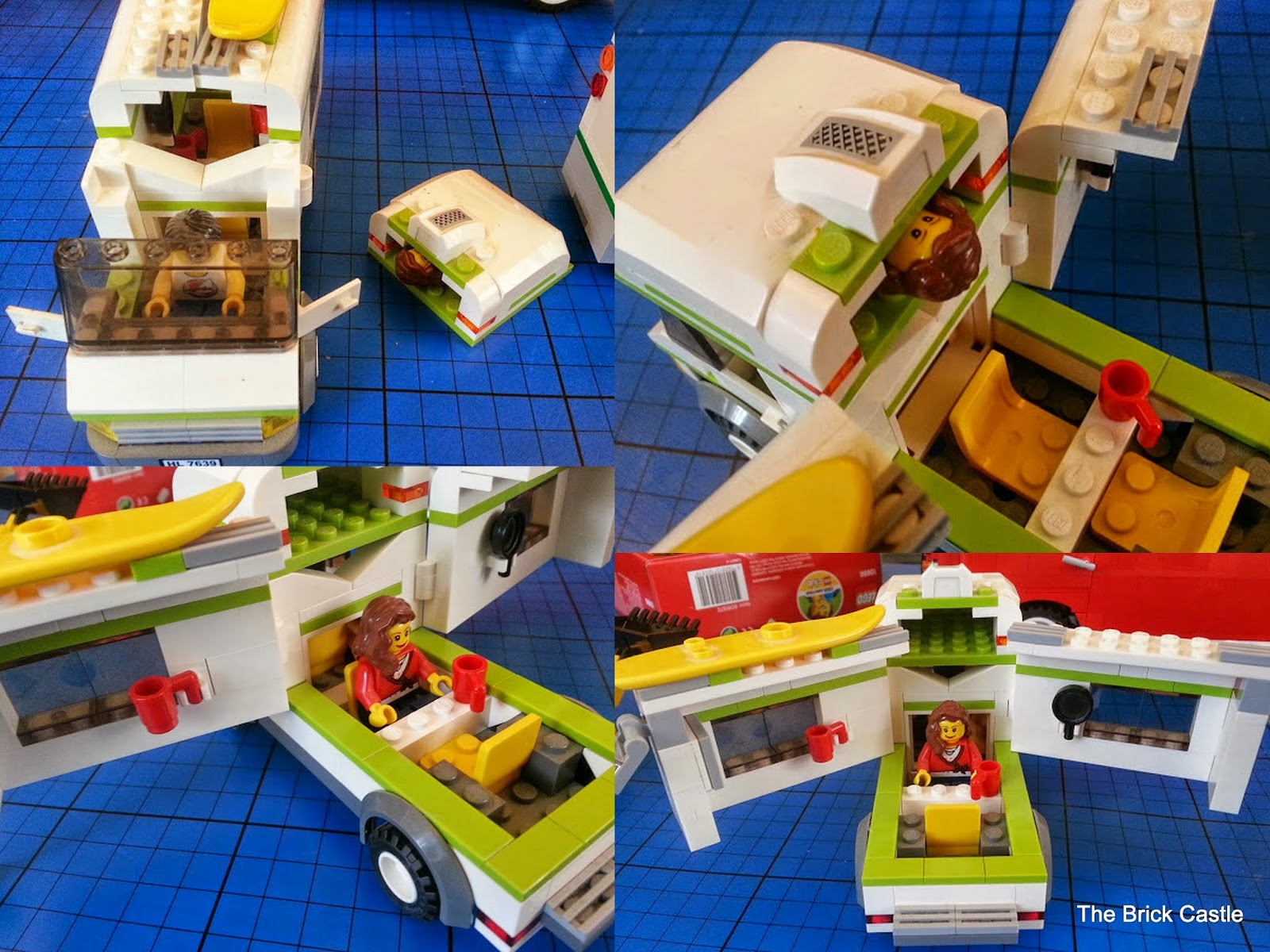 LEGO City Camper Van Play Set model 7639