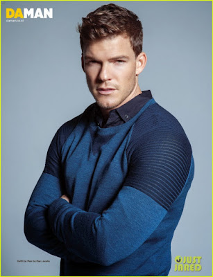 Former Underwear Model Alan Ritchson in Hunger Games