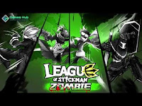 Download League of Stickman Zombie MOD APK v1.2.2 For Android Terbaru 2016