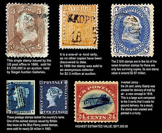 1 Million Dollar Stamps – Wonderful Image Gallery