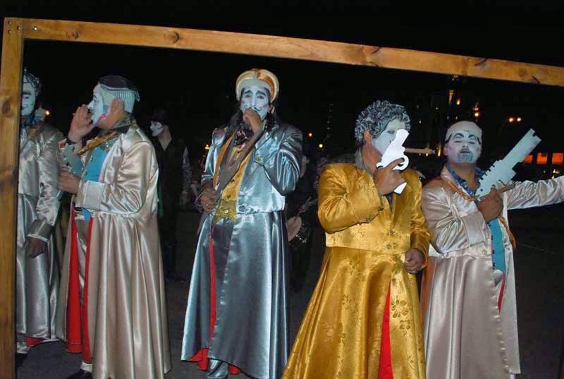 Desfile Inaugural del Carnaval. 2015. La Margarita.