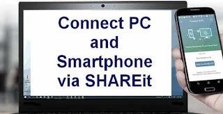Cara Koneksi SHAREit PC ke Android dengan 2 metode Verifikasi