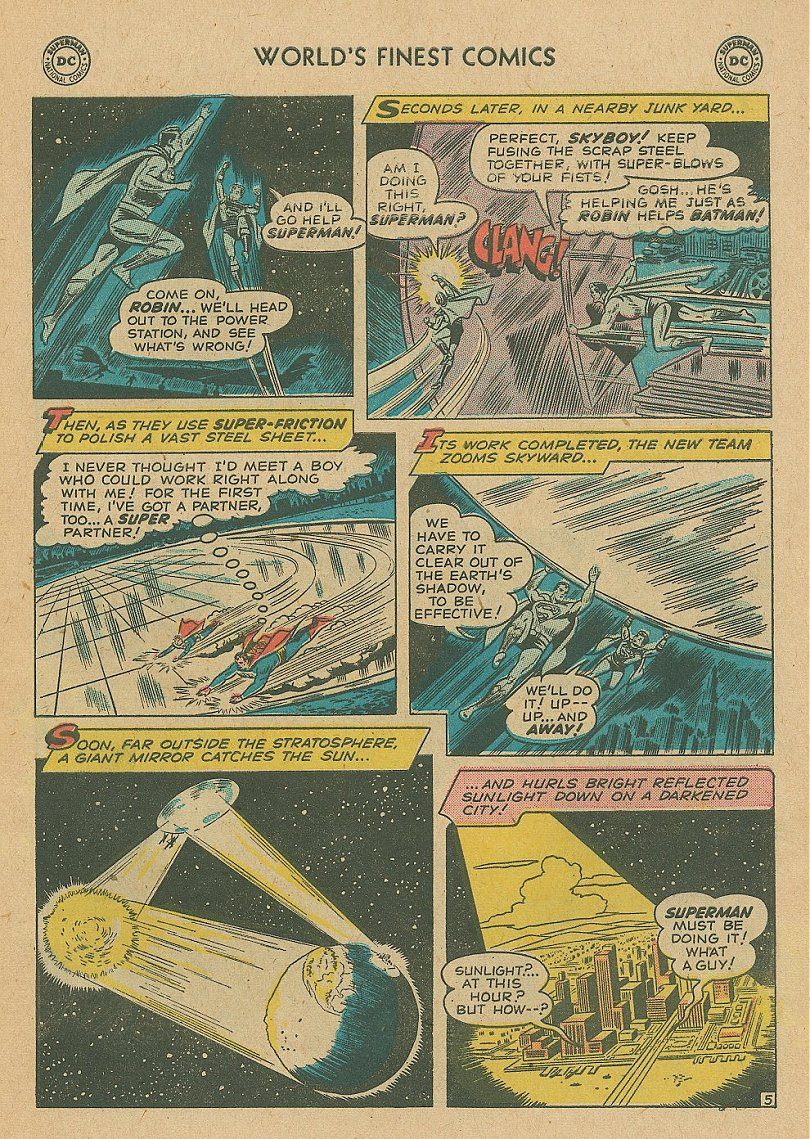 Read online World's Finest Comics comic -  Issue #92 - 20