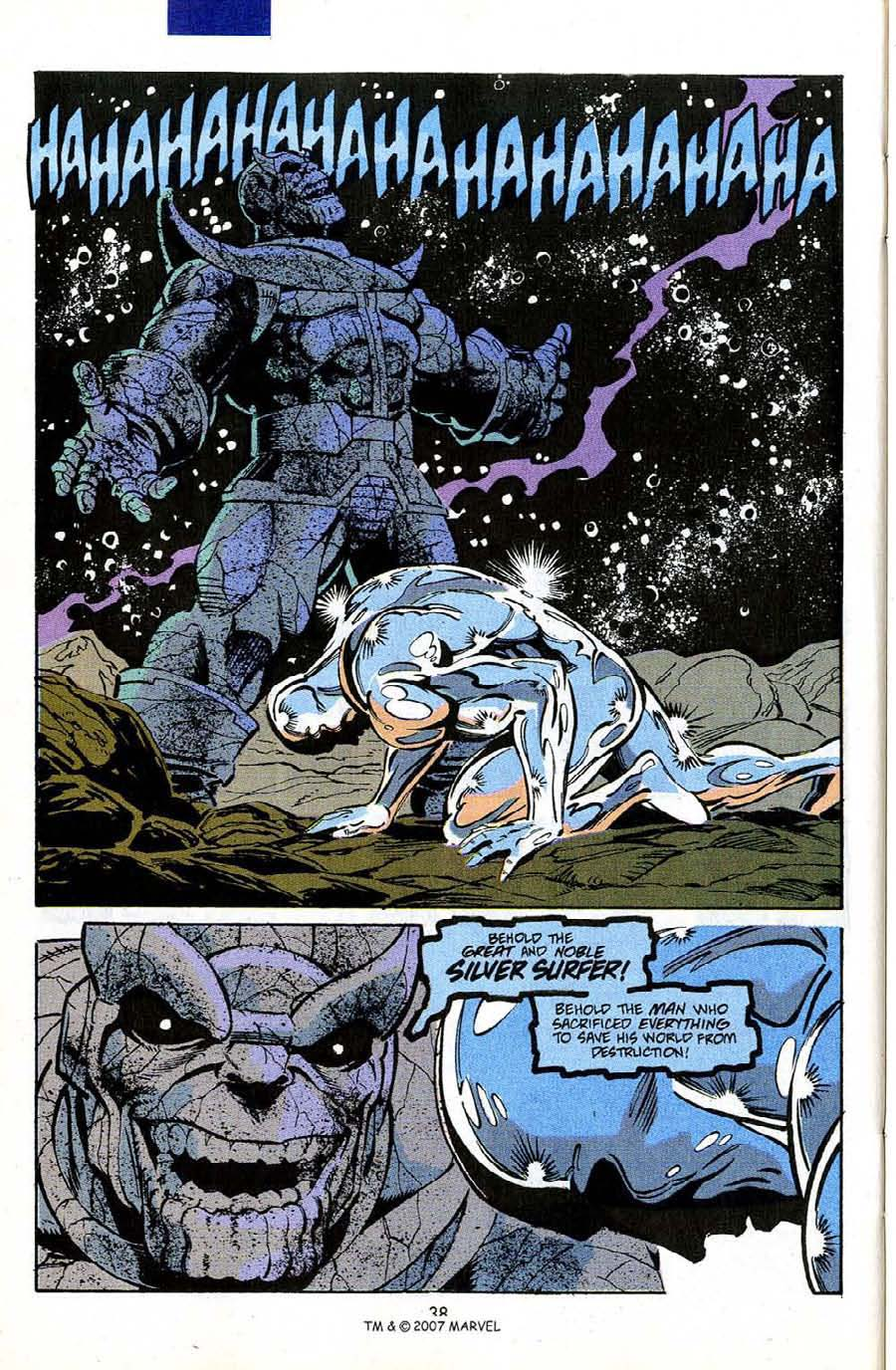 Read online Silver Surfer (1987) comic -  Issue #50 - 40