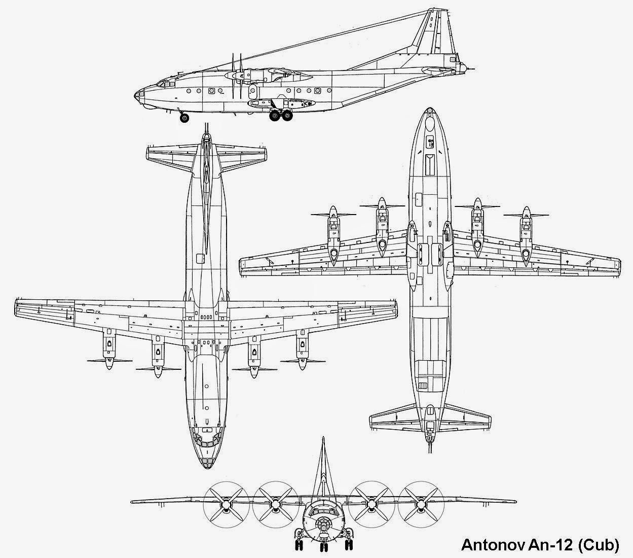 airplane scale modelkit  antonov an