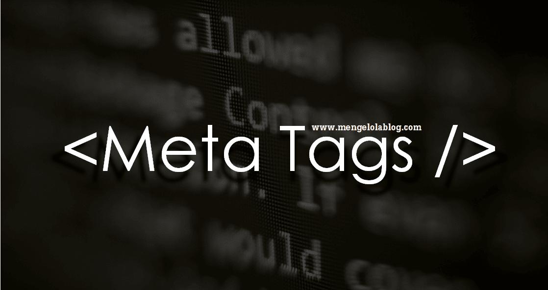 apa itu meta tags
