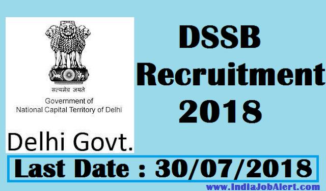 DSSSB Recruitment 2018 ||  Apply Online for 4366 Teacher Posts