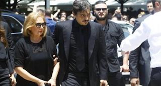 """Παύλος Γιαννακόπουλος: """"Διαλυμένος"""" ο γιος του, Δημήτρης! Ανατριχιαστικά συνθήματα (photos)"""