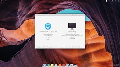 Elementary OS 5 Juno About