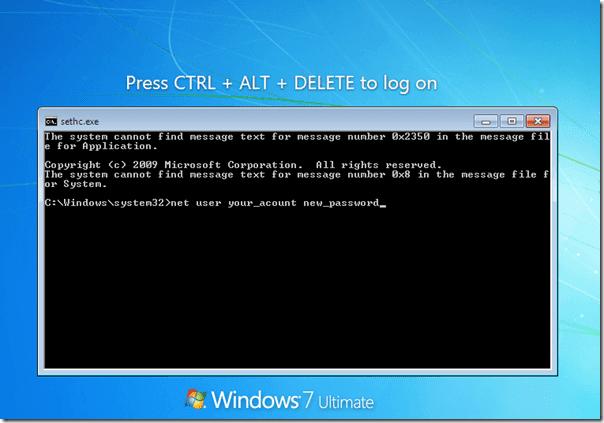 Sethc Windows Exploit