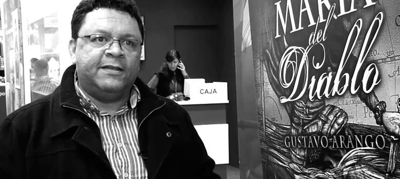 Gustavo Arango habla sobre su libro Santa María del Diablo