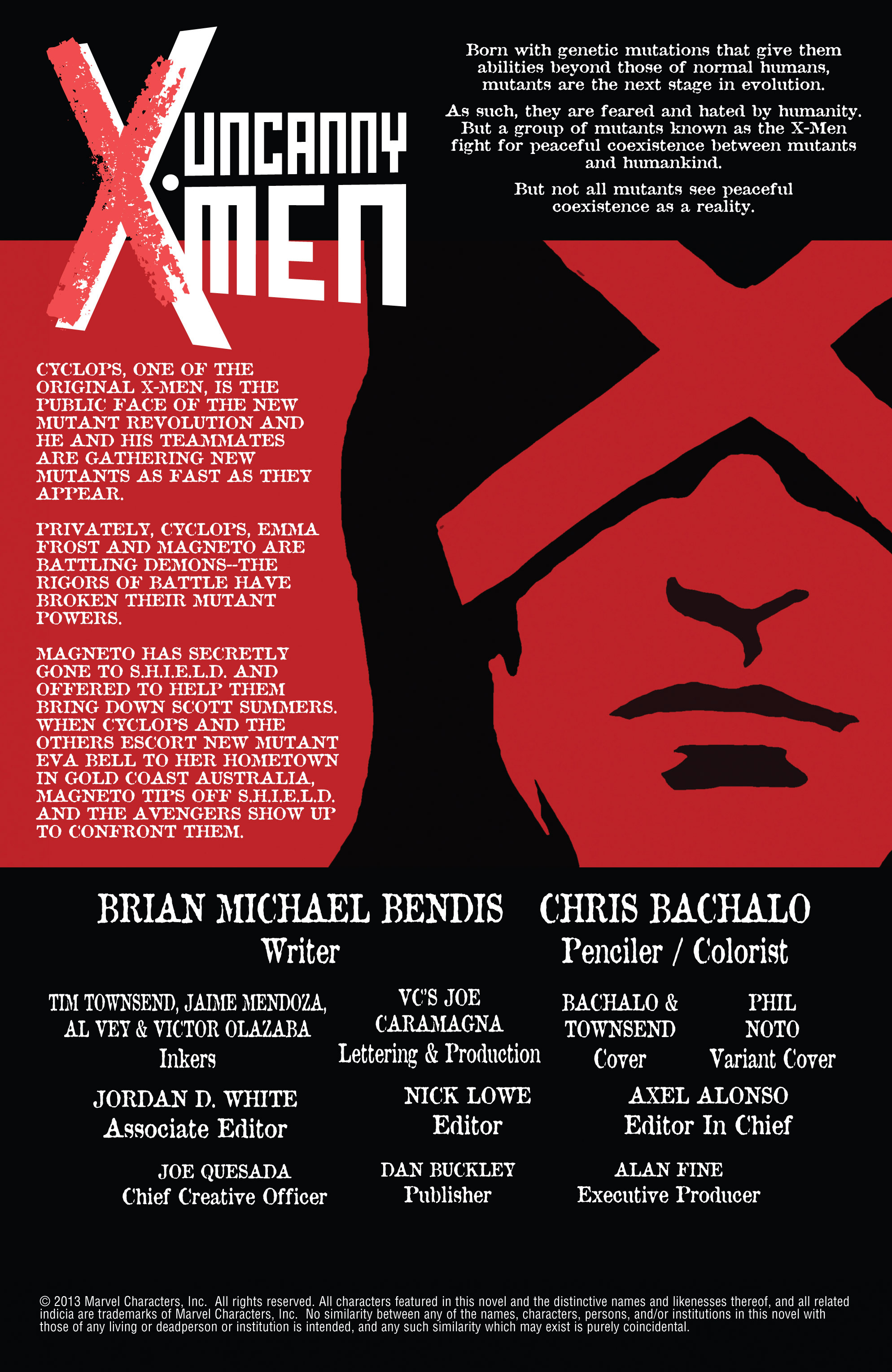 Read online Uncanny X-Men (2013) comic -  Issue #3 - 4