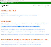 [feature]Keputusan Pertandingan Blog SEO