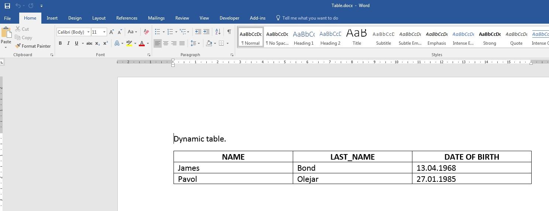 SAP ABAP Central: OpenXML in word processing – Custom XML
