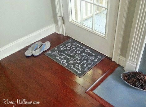 doormat in place