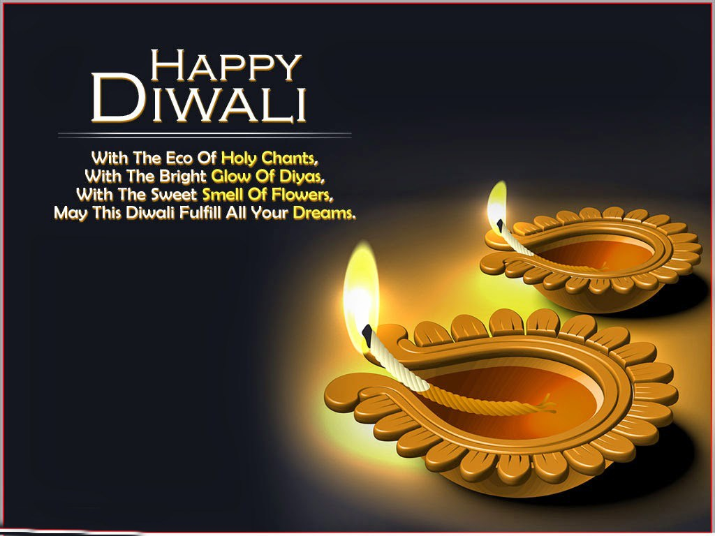 Happy Diwali Greetings in English 2018