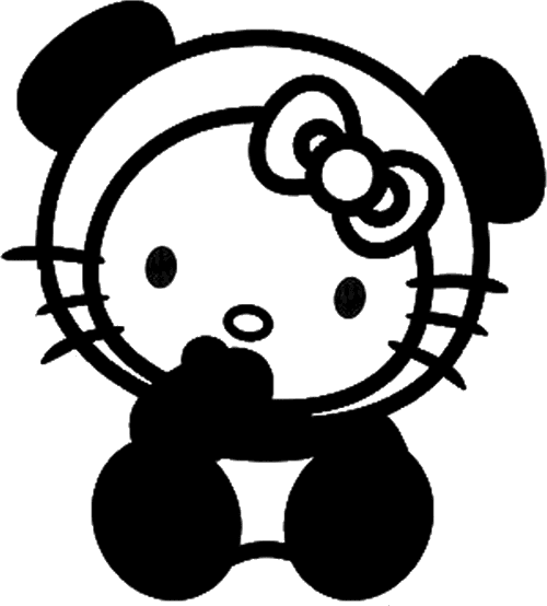 hello kitty oso panda