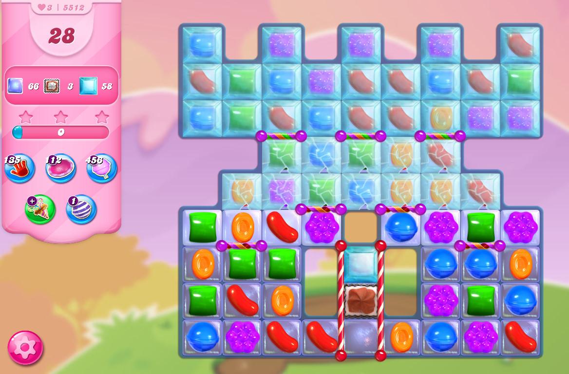 Candy Crush Saga level 5512