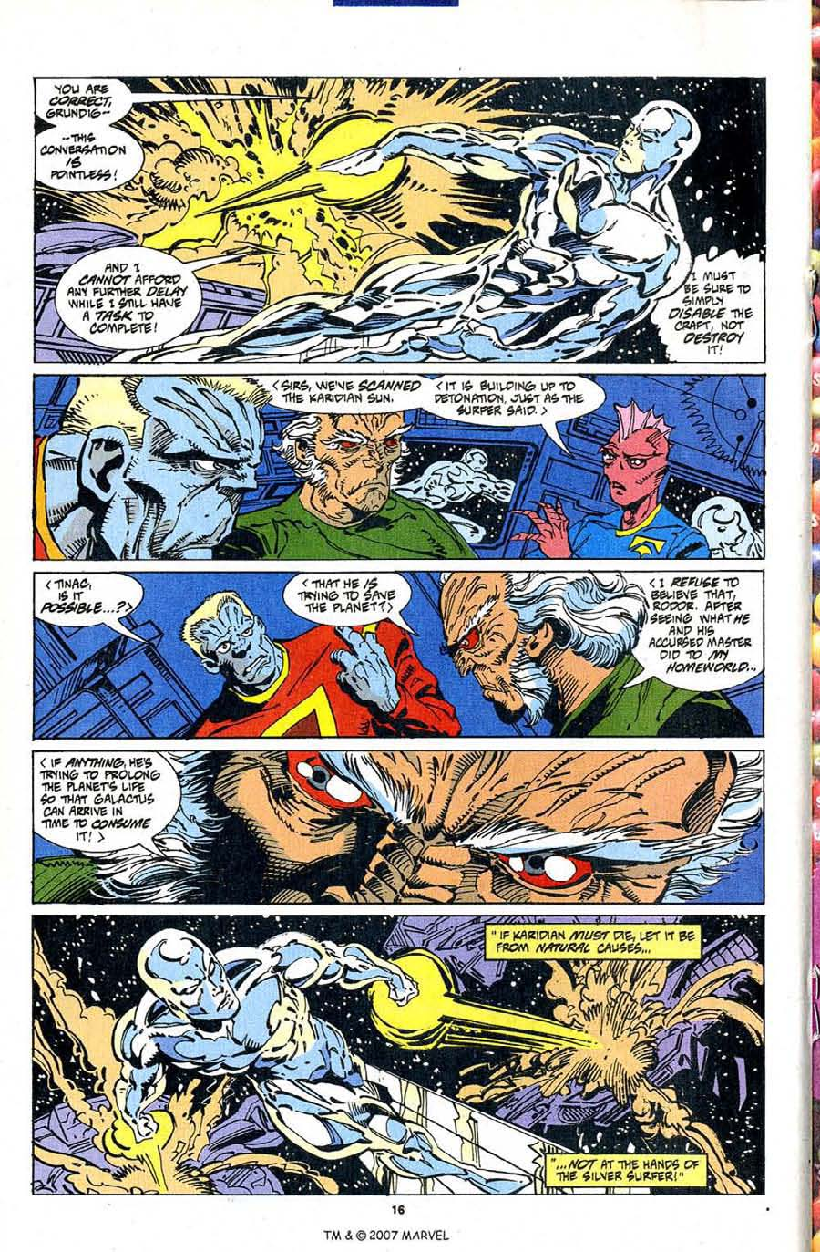 Silver Surfer (1987) Issue #103 #111 - English 18