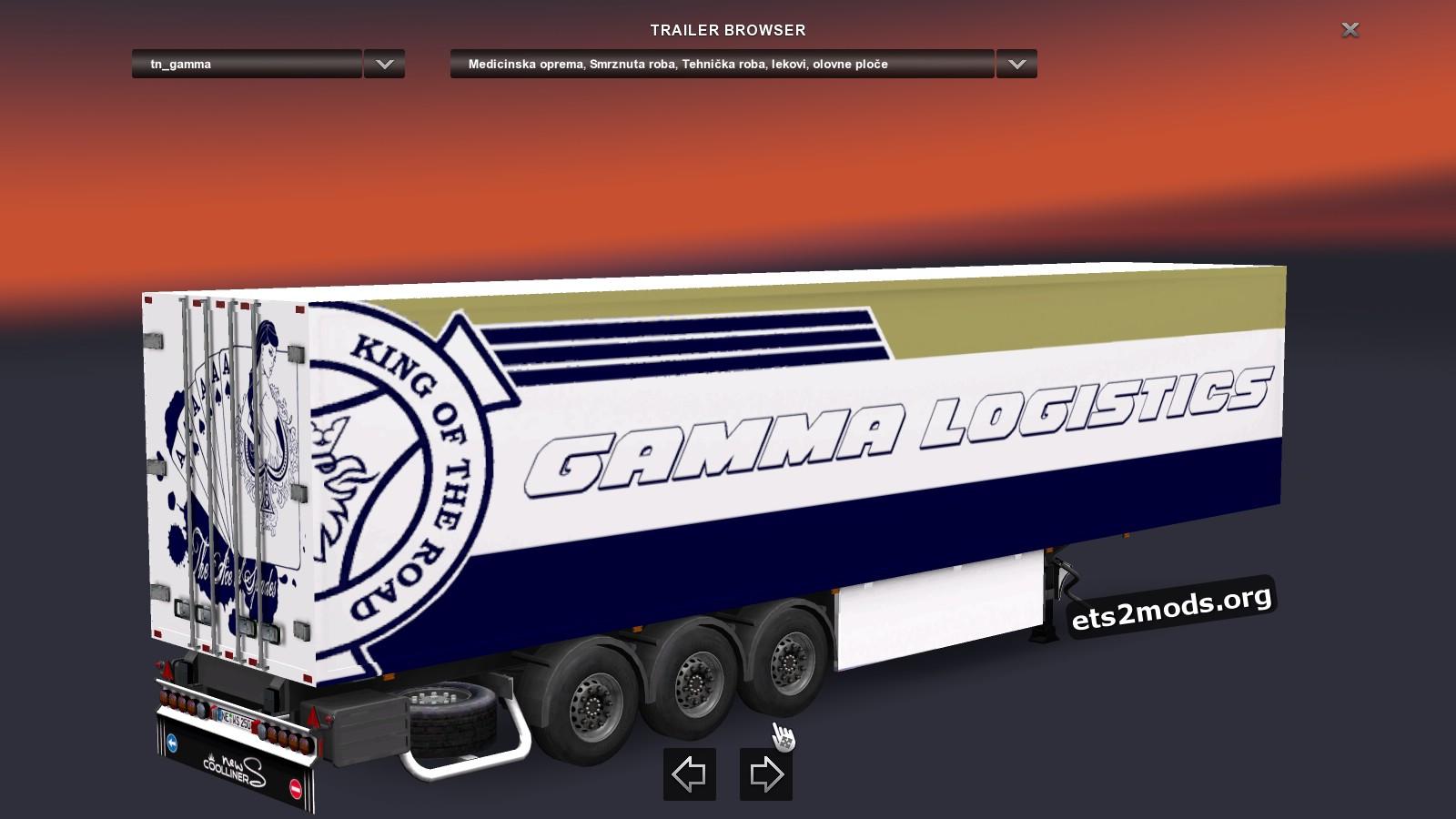 Combo Pack Gamma Logistics