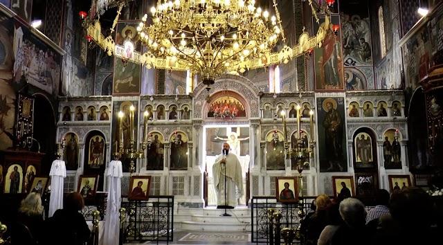 Άγιος Νικόλαος Φιλοπάππου. - π. Γεώργιος Σχοινάς 18 Οκτωβρίου 2015 Λουκά του Αποστόλου και Ευαγγελιστού.