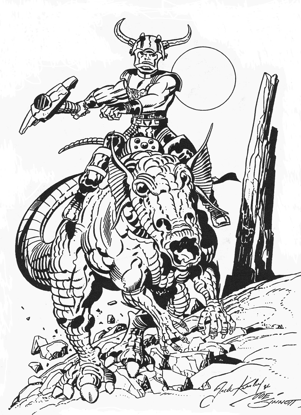 Images About Jack Kirby Sketches And Concepts On Pinterest