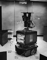 Robotor Shakey mit Details