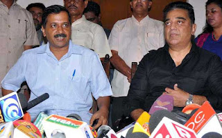 kamal-hasan-should-join-politics-kejriwal