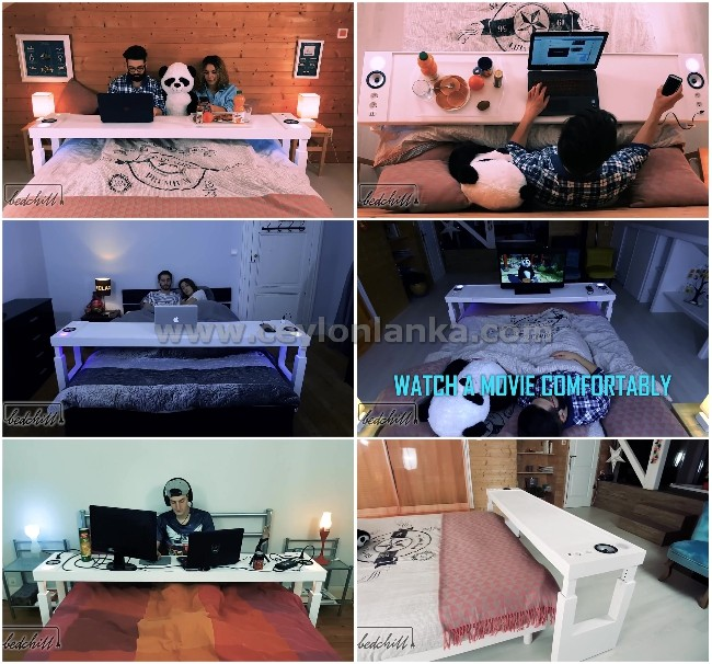 Bedchill, Overbed Rolling Table