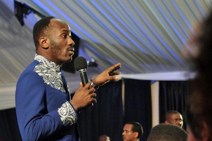 Apostle Suleman discusses Stephanie Otobo's