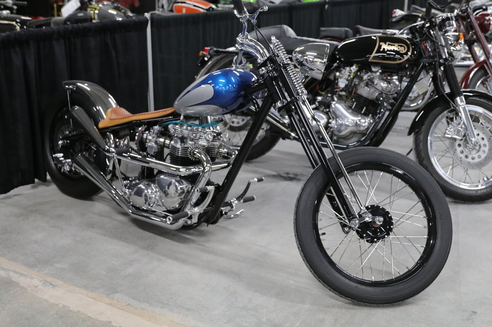 OldMotoDude: 1965 Triumph Chopper sold for $12,650 at the