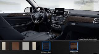 Nội thất Mercedes GLS 400 4MATIC 2016 màu Đen 211