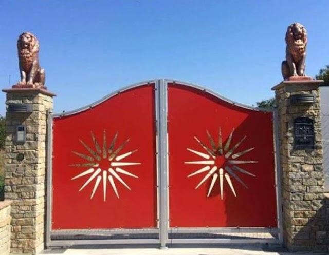 Bild des Tages - Des Makedonischen Aussiedlers Einfahrt