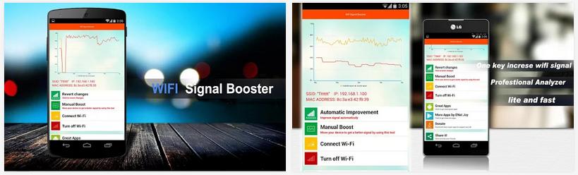 تطبيق مجاني للأندرويد لتعزيز إشارة الواي فاي وزيادة سرعة الانترنت Wifi Signal Booster APK v1.0.2