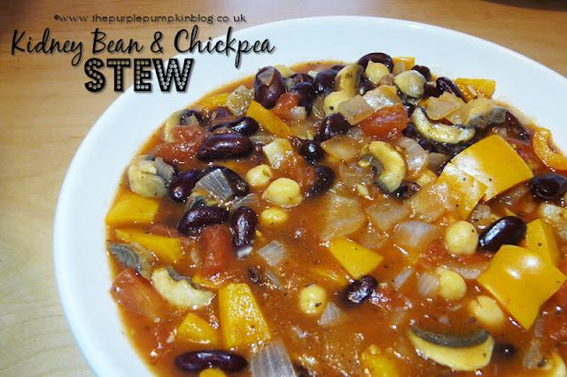 Kidney Bean & Chickpea Stew #Vegan #Vegetarian #Detox