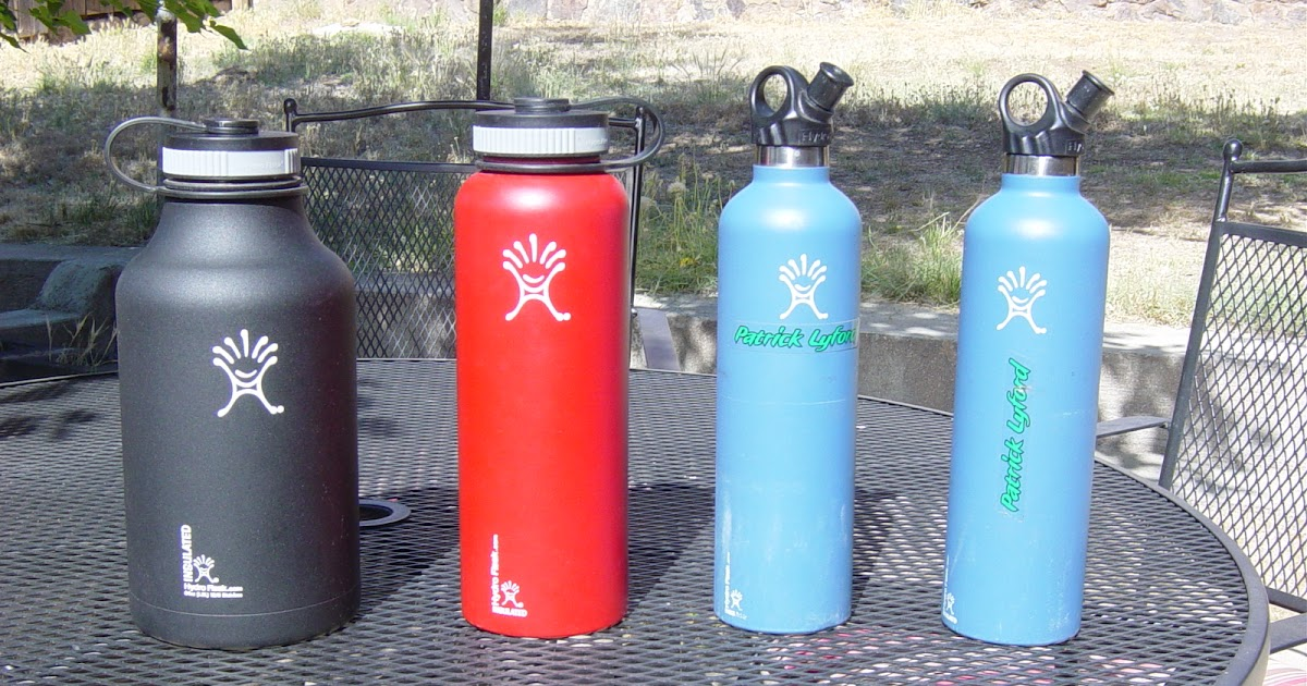 MY SIDE OF THE RIDE: BICYCLE GEAR REVIEW: HydroFlask Water Bottle
